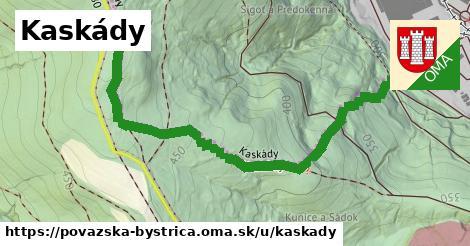 Kaskády, Považská Bystrica
