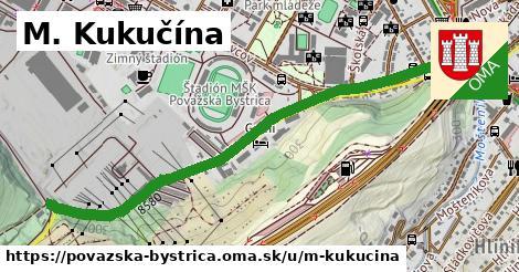 M. Kukučína, Považská Bystrica