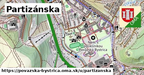 ilustrácia k Partizánska, Považská Bystrica - 3,7km