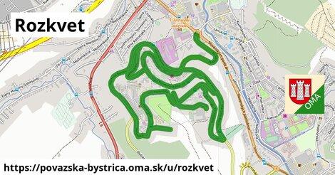 ilustrácia k Rozkvet, Považská Bystrica - 7,1km