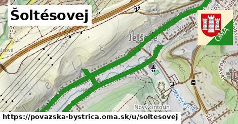 ilustrácia k Šoltésovej, Považská Bystrica - 3,4km