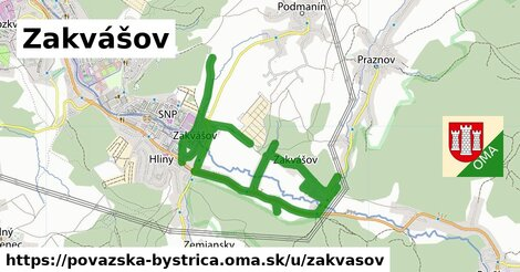 ilustrácia k Zakvášov, Považská Bystrica - 8,1km