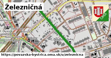 ilustrácia k Železničná, Považská Bystrica - 328m