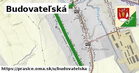 ilustrácia k Budovateľská, Prašice - 1,01km