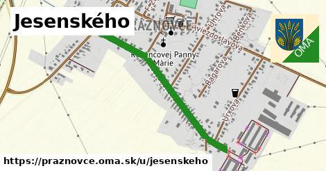 ilustrácia k Jesenského, Práznovce - 0,83km