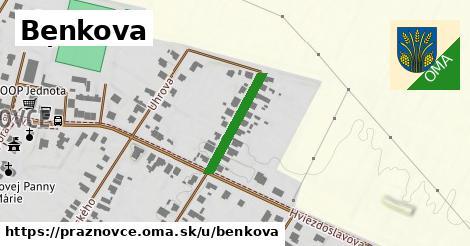 ilustrácia k Benkova, Práznovce - 182m