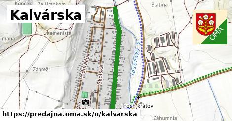 ilustrácia k Kalvárska, Predajná - 696m