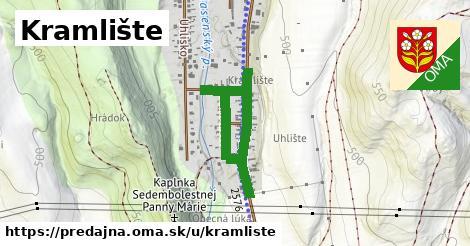 ilustrácia k Kramlište, Predajná - 0,82km