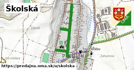 ilustrácia k Školská, Predajná - 0,73km