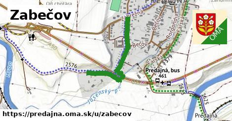 ilustrácia k Zabečov, Predajná - 699m