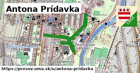 ilustračný obrázok k Antona Prídavka, Prešov