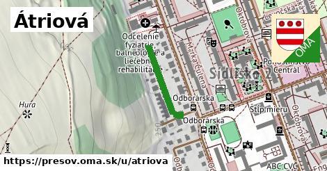 ilustrácia k Átriová, Prešov - 220m