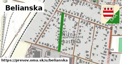 ilustračný obrázok k Belianska, Prešov