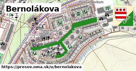 ilustračný obrázok k Bernolákova, Prešov