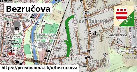 ilustrácia k Bezručova, Prešov - 542m