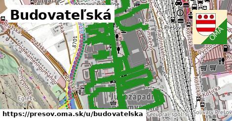 ilustračný obrázok k Budovateľská, Prešov