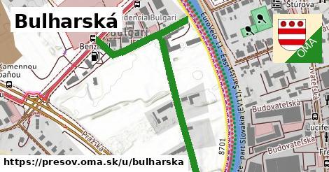 ilustračný obrázok k Bulharská, Prešov