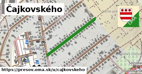 ilustračný obrázok k Čajkovského, Prešov