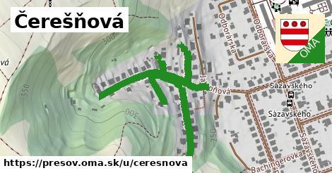 ilustračný obrázok k Čerešňová, Prešov