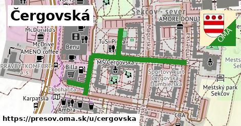 ilustrácia k Čergovská, Prešov - 470m