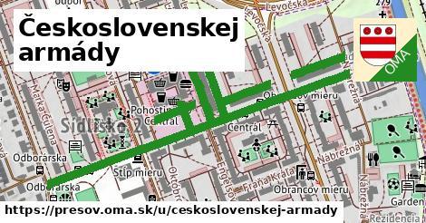 ilustračný obrázok k Československej armády, Prešov