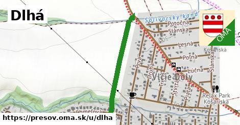 ilustrácia k Dlhá, Prešov - 626m