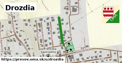 ilustrácia k Drozdia, Prešov - 179m