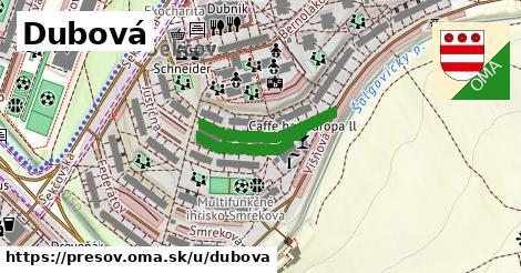 ilustračný obrázok k Dubová, Prešov