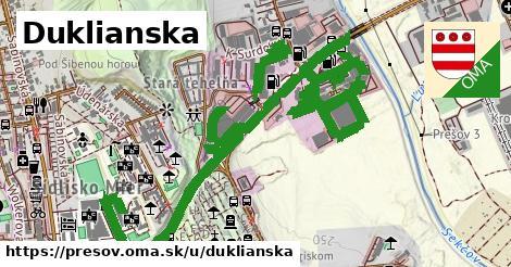 ilustračný obrázok k Duklianska, Prešov