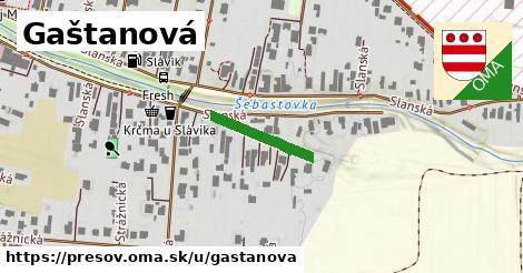 ilustrácia k Gaštanová, Prešov - 158m