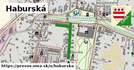 ilustračný obrázok k Haburská, Prešov