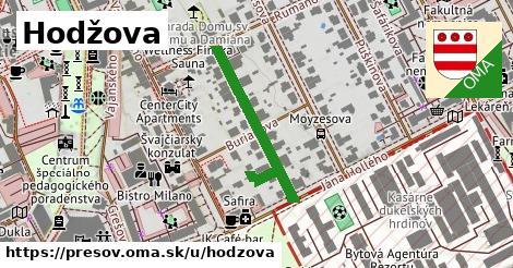 ilustračný obrázok k Hodžova, Prešov