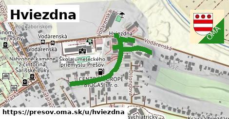 ilustrácia k Hviezdna, Prešov - 283m