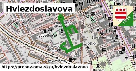 ilustrácia k Hviezdoslavova, Prešov - 166m