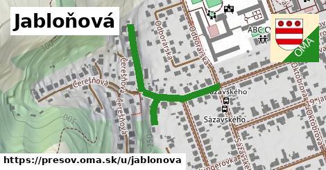 ilustrácia k Jabloňová, Prešov - 314m