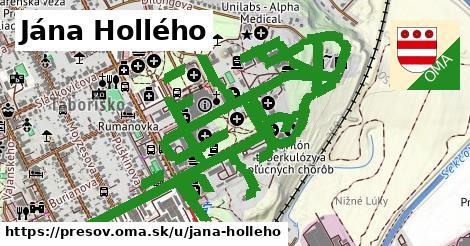 ilustrácia k Jána Hollého, Prešov - 522m