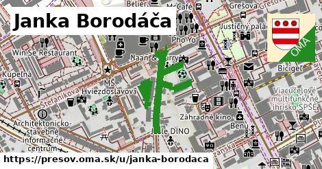 ilustračný obrázok k Janka Borodáča, Prešov