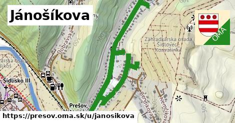 ilustrácia k Jánošíkova, Prešov - 1,50km