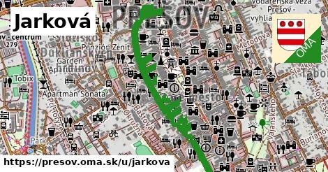 ilustrácia k Jarková, Prešov - 1,04km