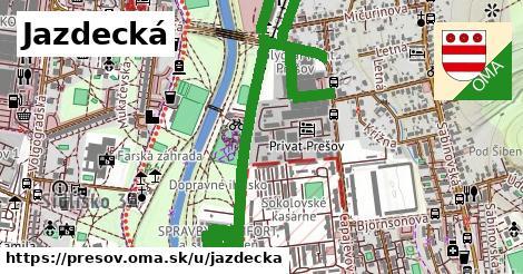 ilustrácia k Jazdecká, Prešov - 1,68km