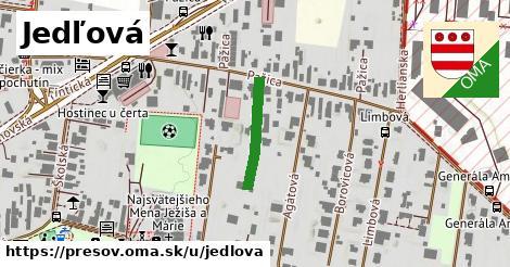 ilustrácia k Jedľová, Prešov - 229m