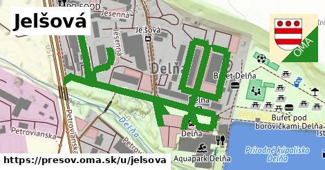 ilustrácia k Jelšová, Prešov - 465m