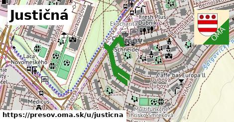 ilustračný obrázok k Justičná, Prešov