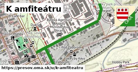 ilustračný obrázok k K amfiteátru, Prešov