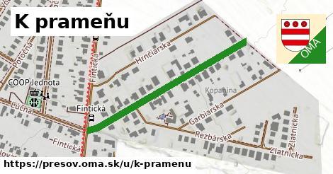 ilustračný obrázok k K prameňu, Prešov