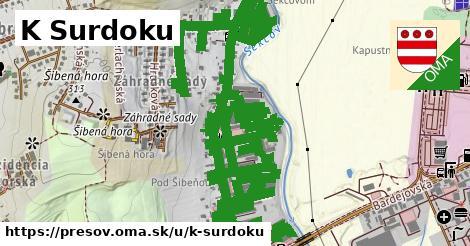 ilustrácia k K Surdoku, Prešov - 2,4km