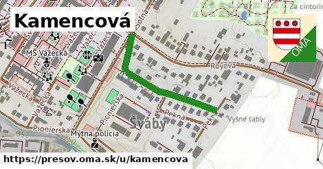 ilustračný obrázok k Kamencová, Prešov