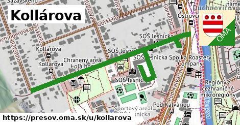 ilustrácia k Kollárova, Prešov - 521m