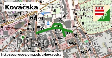 ilustrácia k Kováčska, Prešov - 248m