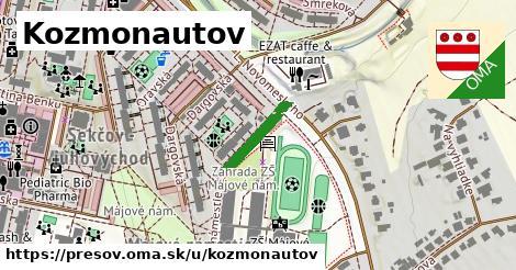 ilustrácia k Kozmonautov, Prešov - 122m